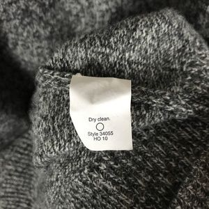 J. Crew Sweaters - J Crew 100% wool grey Sequin boyfriend sweater M